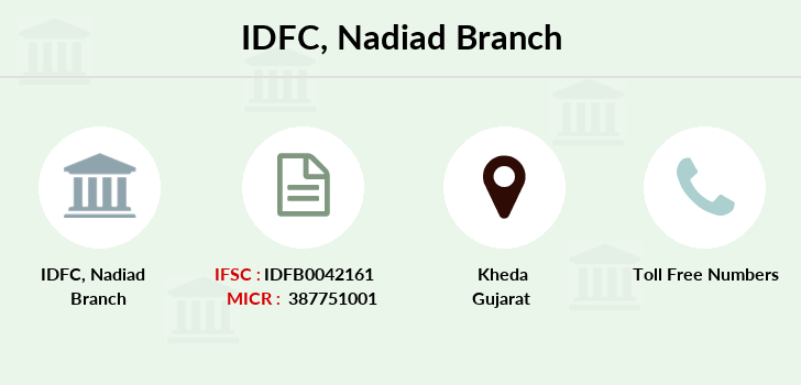 Idfc-bank-ltd Nadiad branch