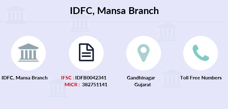 Idfc-bank-ltd Mansa branch