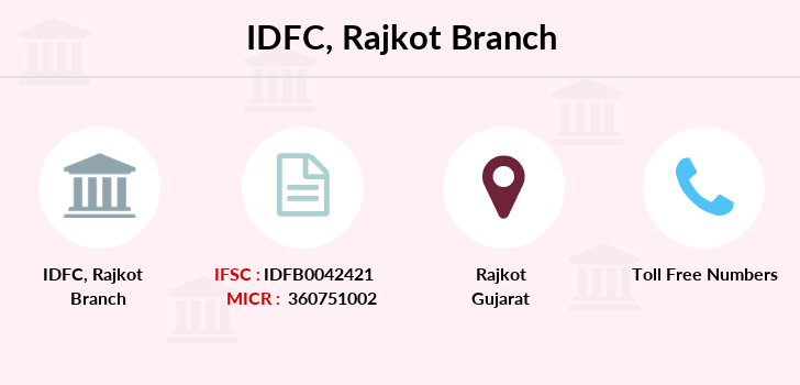 Idfc-bank-ltd Rajkot branch