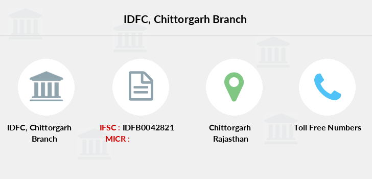 Idfc-bank-ltd Chittorgarh branch