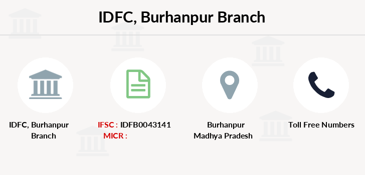 Idfc-bank-ltd Burhanpur branch