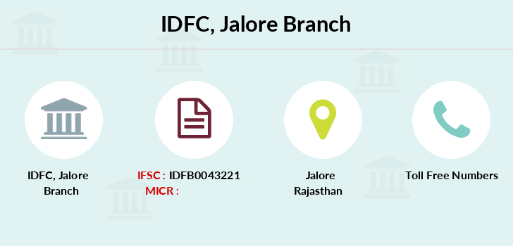 Idfc-bank-ltd Jalore branch