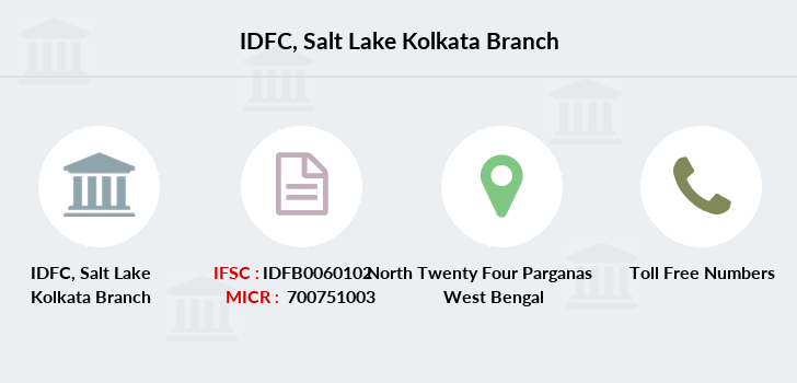 Idfc-bank-ltd Salt-lake-kolkata branch