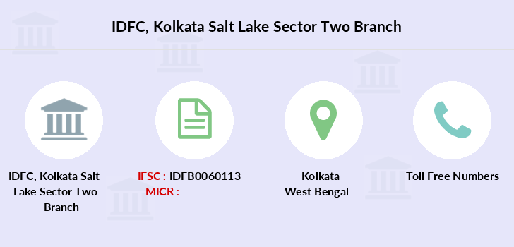 Idfc-bank-ltd Kolkata-salt-lake-sector-two branch