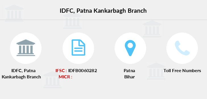 Idfc-bank-ltd Patna-kankarbagh branch