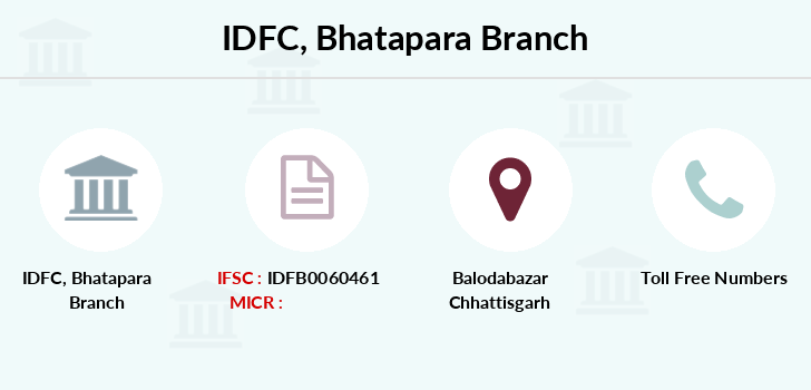 Idfc-bank-ltd Bhatapara branch