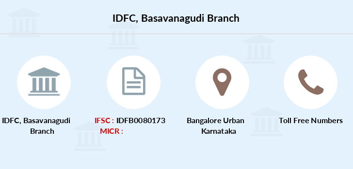 Idfc-bank-ltd Basavanagudi branch