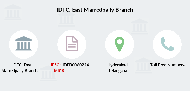 Idfc-bank-ltd East-marredpally branch