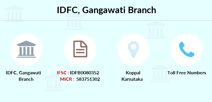 Idfc-bank-ltd Gangawati branch