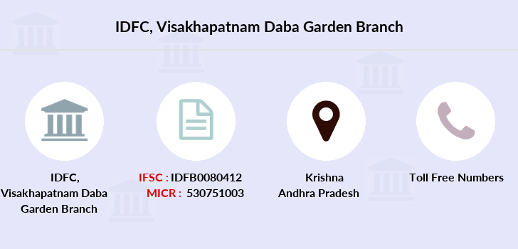 Idfc-bank-ltd Visakhapatnam-daba-garden branch