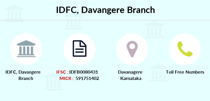 Idfc-bank-ltd Davangere branch