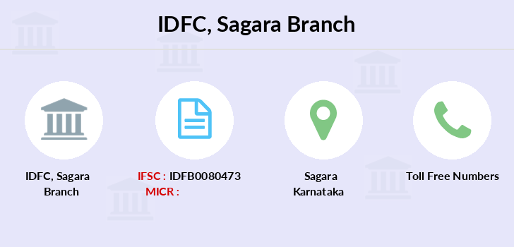 Idfc-bank-ltd Sagara branch