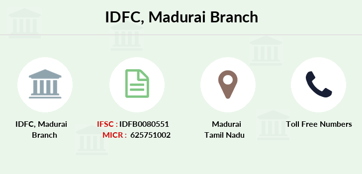 Idfc-bank-ltd Madurai branch