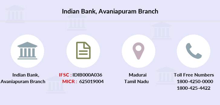 By Photo Congress || Ifsc Code For Indian Bank Madurai