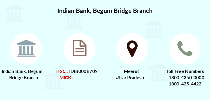 Indian-bank Begum-bridge branch