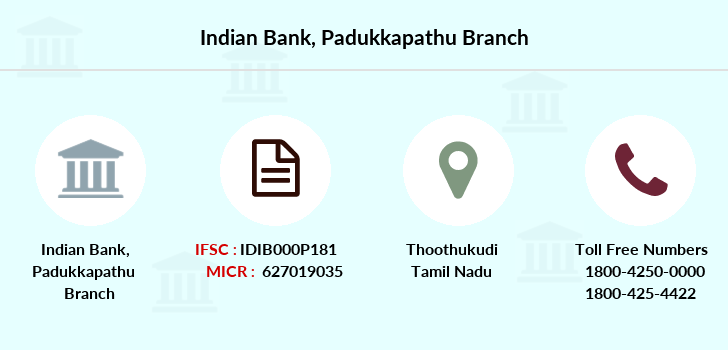 Indian-bank Padukkapathu branch