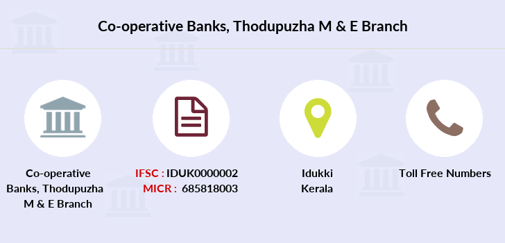 Co-operative-banks Thodupuzha-m-e branch