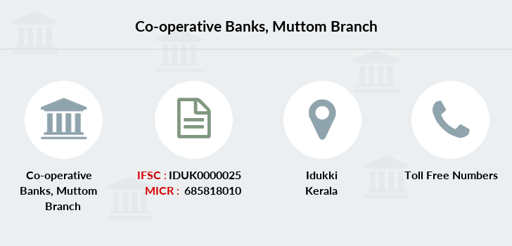 Co-operative-banks Muttom branch