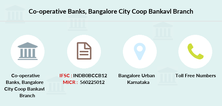 Co-operative-banks Bangalore-city-coop-bankavl branch