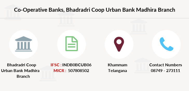 Co-operative-banks Bhadradri-coop-urban-bank-madhira branch