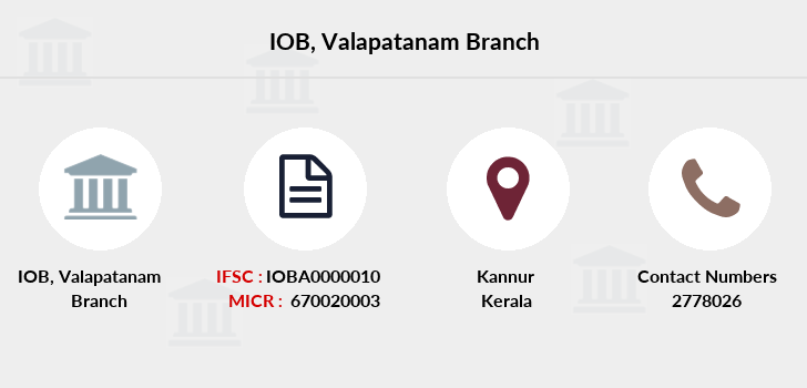 Indian-overseas-bank Valapatanam branch