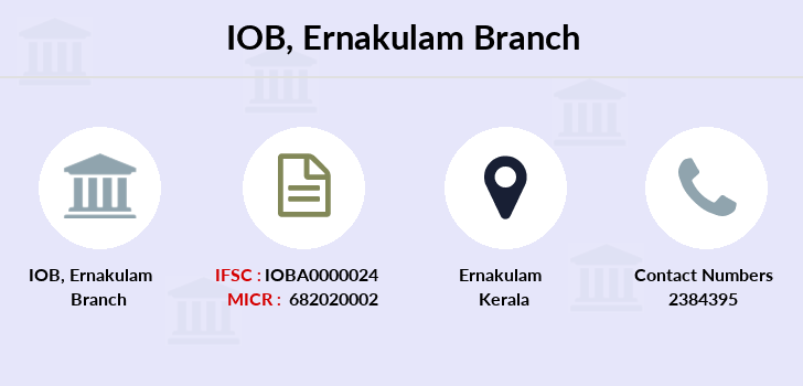 Indian-overseas-bank Ernakulam branch