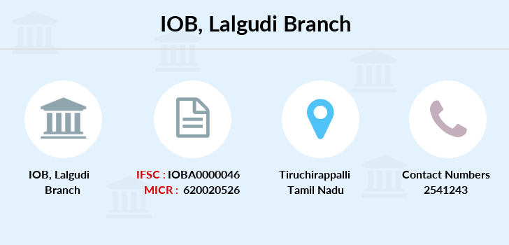 Indian-overseas-bank Lalgudi branch