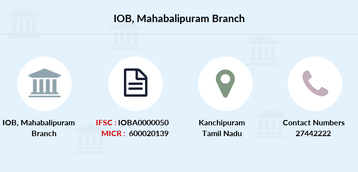 Indian-overseas-bank Mahabalipuram branch