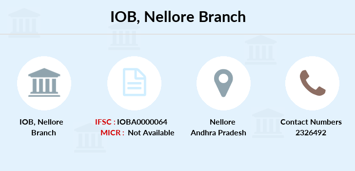 Indian-overseas-bank Nellore branch