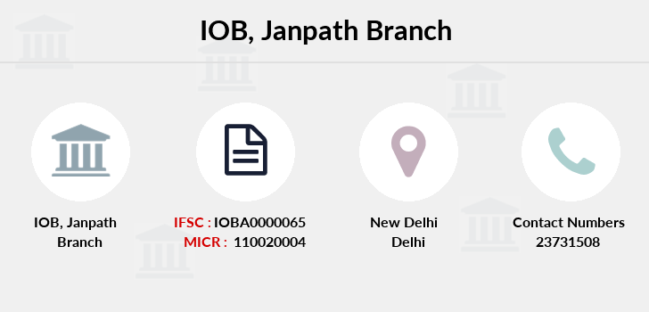 Indian-overseas-bank Janpath branch