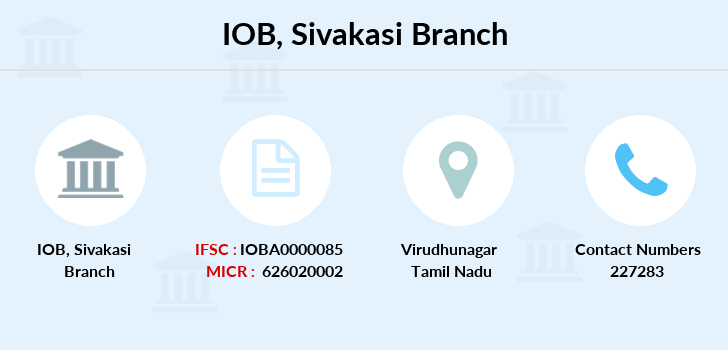 Indian-overseas-bank Sivakasi branch