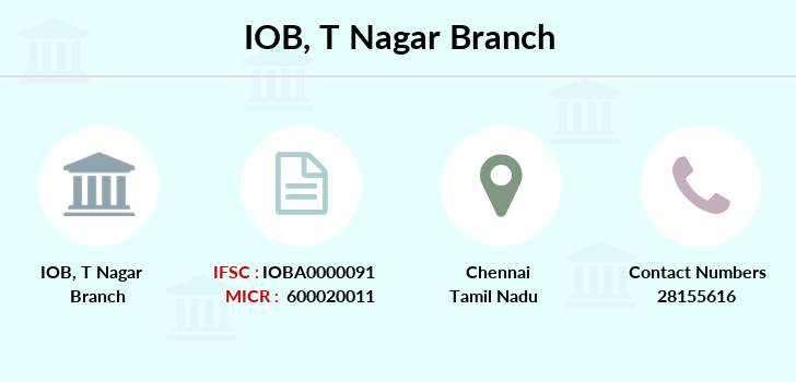 Indian-overseas-bank T-nagar branch