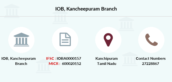 Indian-overseas-bank Kancheepuram branch