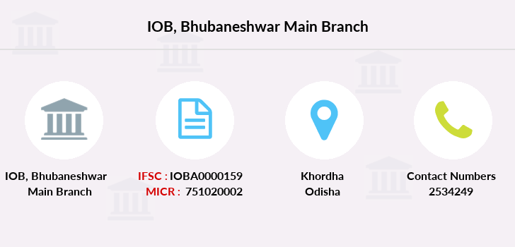 Indian-overseas-bank Bhubaneshwar-main branch