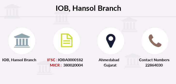 Indian-overseas-bank Hansol branch