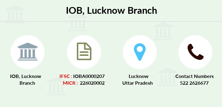 Indian-overseas-bank Lucknow branch