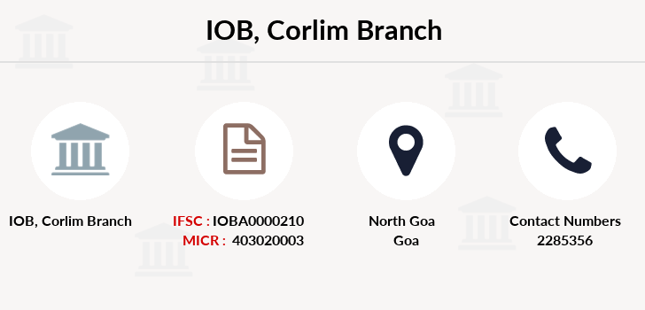Indian-overseas-bank Corlim branch