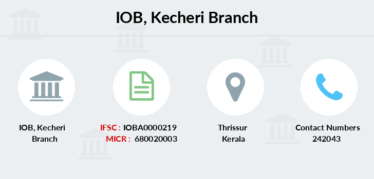 Indian-overseas-bank Kecheri branch