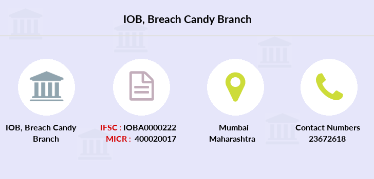 Indian-overseas-bank Breach-candy branch