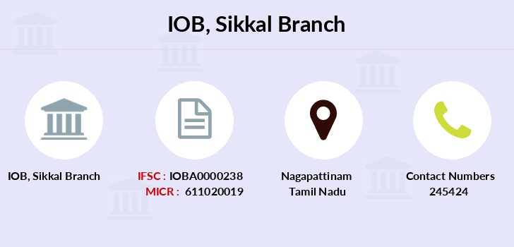 Indian-overseas-bank Sikkal branch