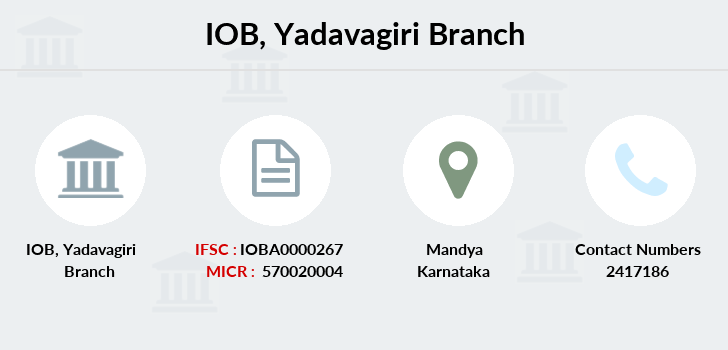 Indian-overseas-bank Yadavagiri branch