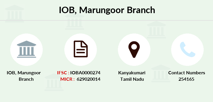 Indian-overseas-bank Marungoor branch