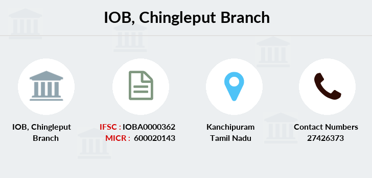 Indian-overseas-bank Chingleput branch