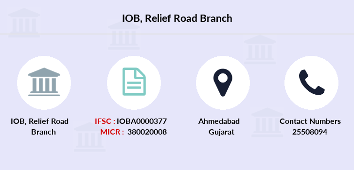 Indian-overseas-bank Relief-road branch