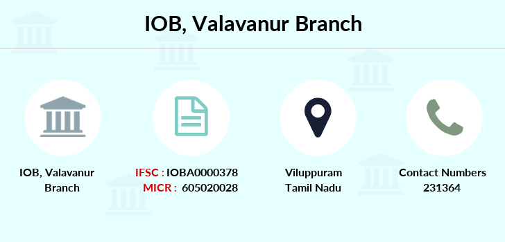 Indian-overseas-bank Valavanur branch