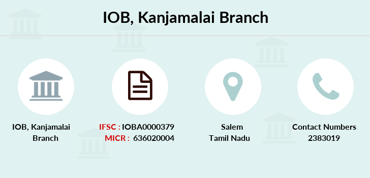 Indian-overseas-bank Kanjamalai branch