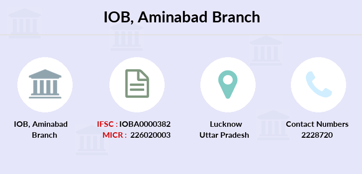 Indian-overseas-bank Aminabad branch