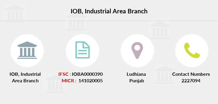 Indian-overseas-bank Industrial-area branch
