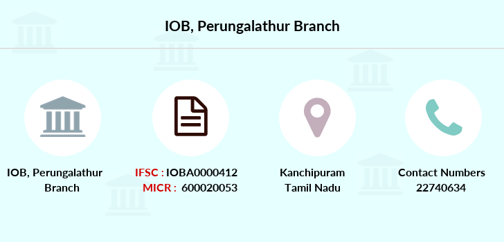 Indian-overseas-bank Perungalathur branch
