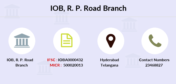 Indian-overseas-bank R-p-road branch